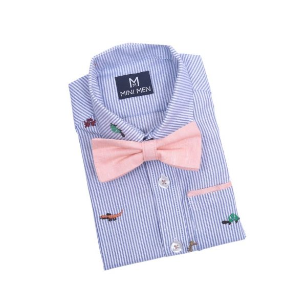Bowtie Shirts Embroidery Bug