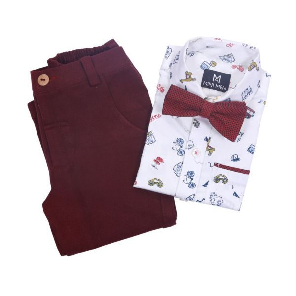 Pant Shirt Set Vacation