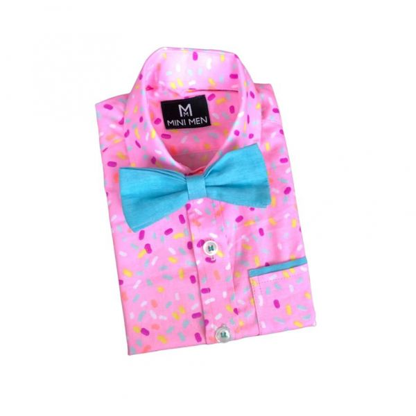 Bowtie Shirt  - Candy Sprinkle